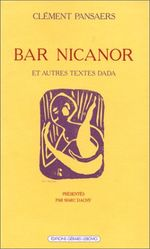 Couverture Bar Nicanor