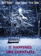 Affiche It Happened One Christmas