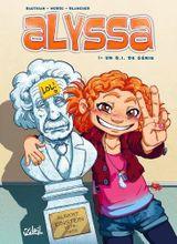 Couverture Un QI de génie - Alyssa, tome 1