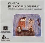 Pochette Canada: Jeux vocaux des Inuit