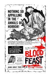 Affiche Orgie sanglante