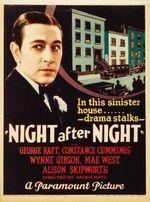 Affiche Nuit après nuit