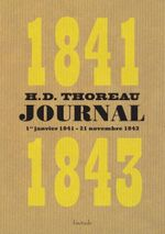 Couverture Journal, 1841-1843