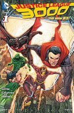 Couverture Justice League 3000 (The New 52)