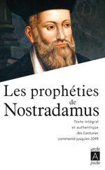 Couverture Les prophéties de Nostradamus
