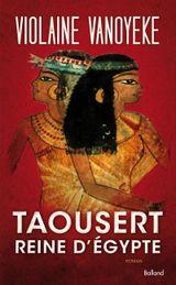 Couverture Taousert Reine d'Egypte