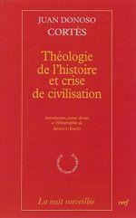 Couverture Théologie de l'histoire et crise de civilisation