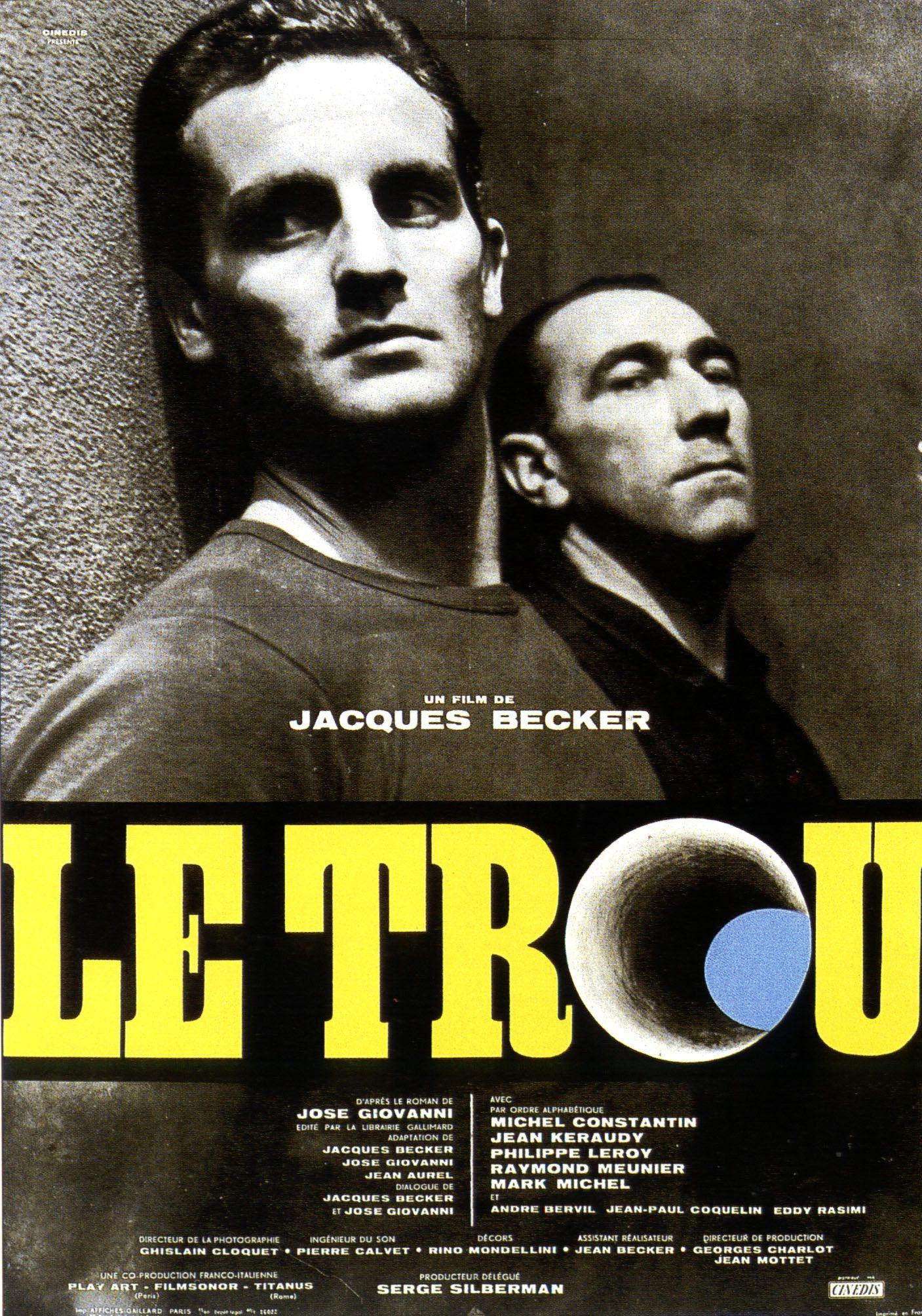 Le Trou - Film (1960) - SensCritique