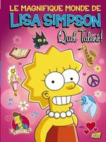Couverture Lisa simpson