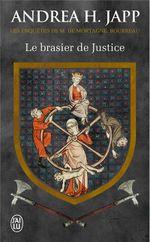 Couverture Le brasier de justice