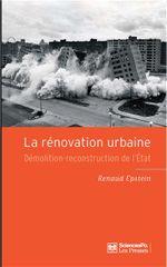 Couverture La rénovation urbaine