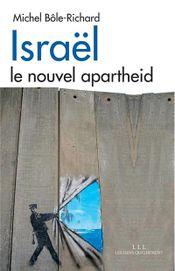 Couverture Israël : le nouvel apartheid