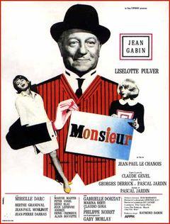 Affiche Monsieur
