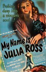 Affiche Le calvaire de Julia Ross