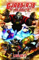 Couverture Legacy - Guardians of the Galaxy (2008), tome 1