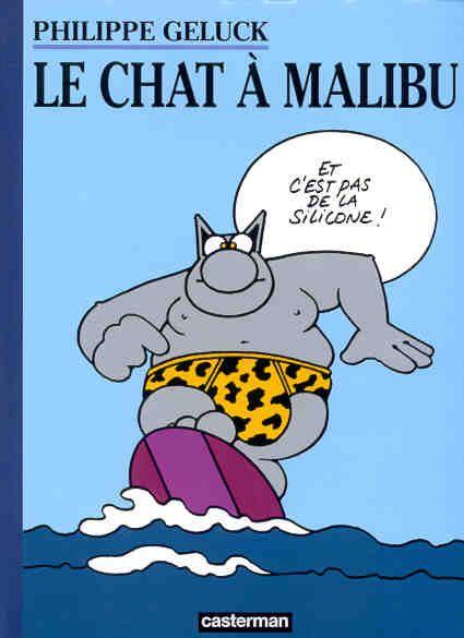 Le Chat à Malibu Le Chat Tome 7 Philippe Geluck Senscritique