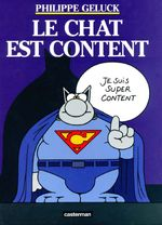 Couverture Le Chat est content - Le Chat, tome 10