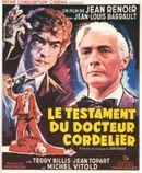 Affiche Le Testament du docteur Cordelier