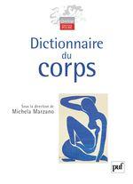 Couverture Dictionnaire du corps