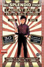 Affiche Laurent Baffie est un sale gosse !