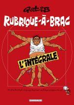 Couverture Rubrique-À -Brac L'Intégrale