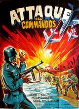Affiche L'Attaque des Commandos