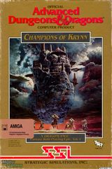 Jaquette Advanced Dungeons & Dragons : Champions of Krynn