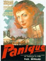 Affiche Panique