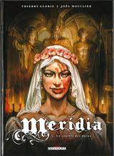 Couverture Le Souffle des dieux - Méridia, tome 2