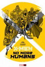 Couverture X-Men: No More Humans