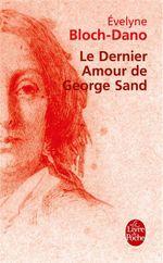 Couverture Le dernier amour de George Sand