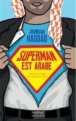 Couverture Superman est arabe