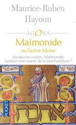 Couverture Maïmonide ou l'autre Moïse