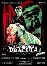 Affiche Le Cauchemar de Dracula