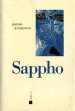 Couverture Poèmes et fragments