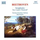 "Pochette Symphonies nos. 1 and 6 ""Pastoral"""