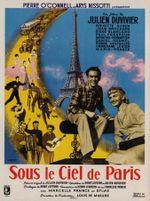 Affiche Sous le ciel de Paris