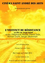 Affiche L'Instinct de résistance