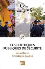 Couverture Les politiques publiques de sécurité