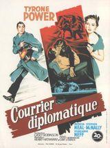 Affiche Courrier diplomatique