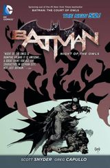 Couverture Batman: Night of the Owls