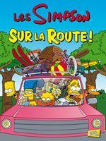 Couverture Les Simpson Sur la route !