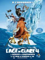 Affiche L'Âge de glace 4 : La Dérive des continents