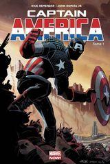 Couverture Perdu dans la Dimension Z (1/2) - Captain America (2013), tome 1