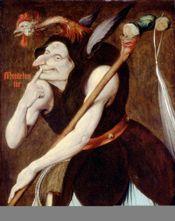 Couverture Eloge de la folie illustrée par les peintres de la renaissance du Nord