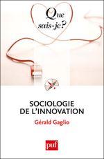 Couverture Sociologie de l'innovation