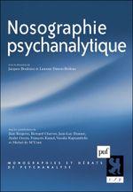 Couverture Nosographie psychanalytique