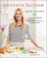 Couverture Mon carnet de recettes pour ma famille et mes amis