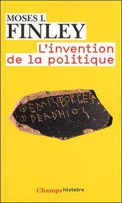 Couverture L'Invention de la politique