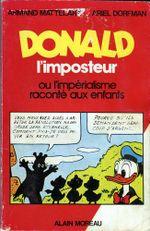 Couverture Donald l'imposteur ou l'Impérialisme raconté aux enfants